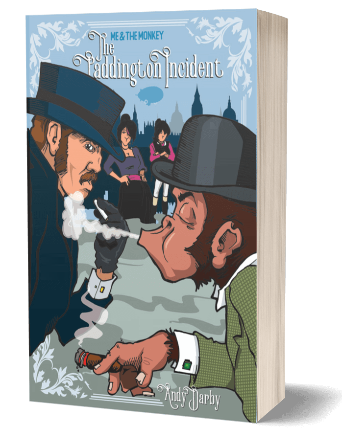 The Padington Incident 3D Book Cover